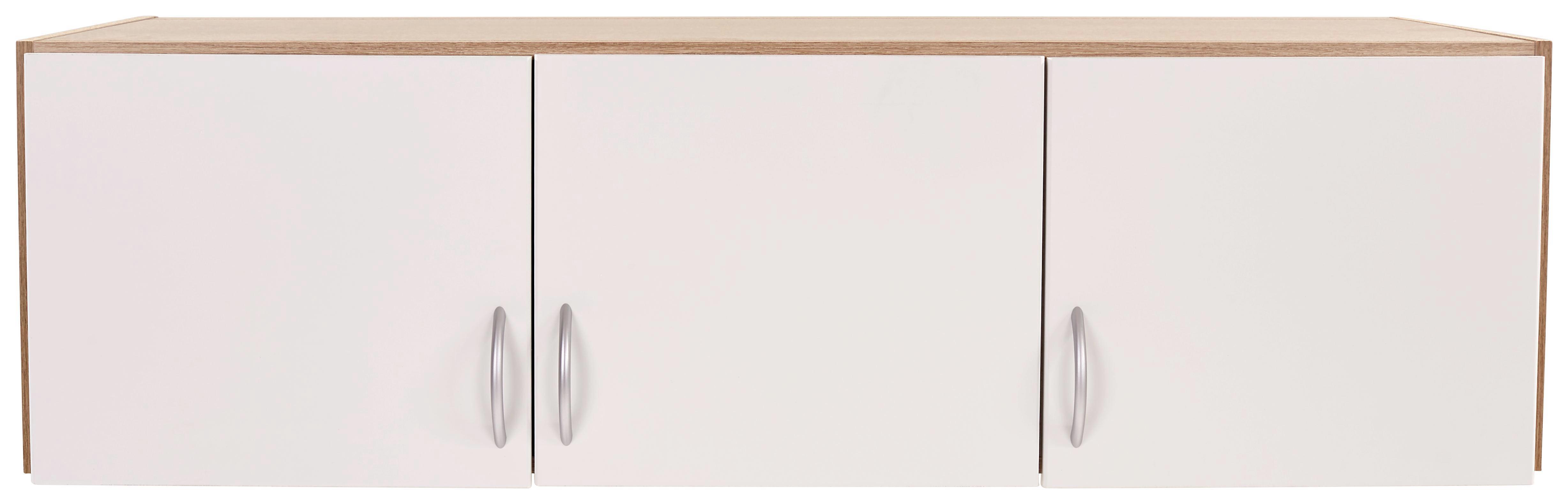 Szekrényrátét Karo-extra - tölgy színű/fehér, konvencionális, faanyagok (136/39/54cm)