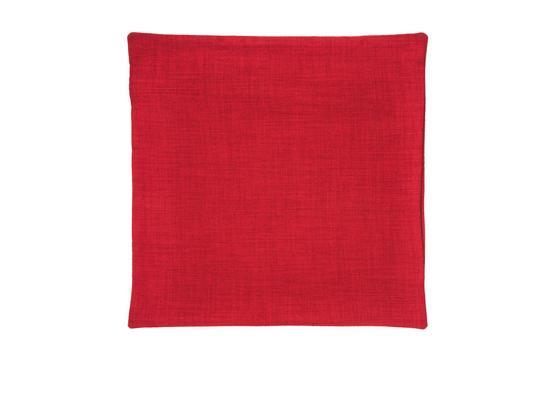 Povlak Na Polštář Vzhled Lanu - červená, textil (50/50cm) - Premium Living