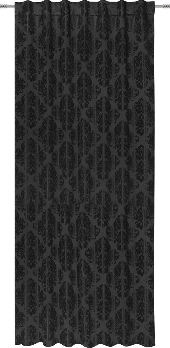 Zatemňovací Záves Charles - čierna, Štýlový, textil (140/245cm) - Mömax modern living