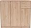 Kommode 4-You YUK09 - Eichefarben, MODERN, Holzwerkstoff (109,1/111,4/34,6cm)