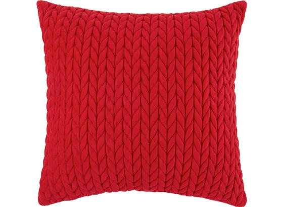 Polštář Ozdobný Heidi - červená, Romantický / Rustikální, textil (45/45cm) - Mömax modern living