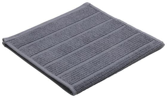 Ručník Pro Hosty Anna - antracitová, textil (30/50cm) - Mömax modern living