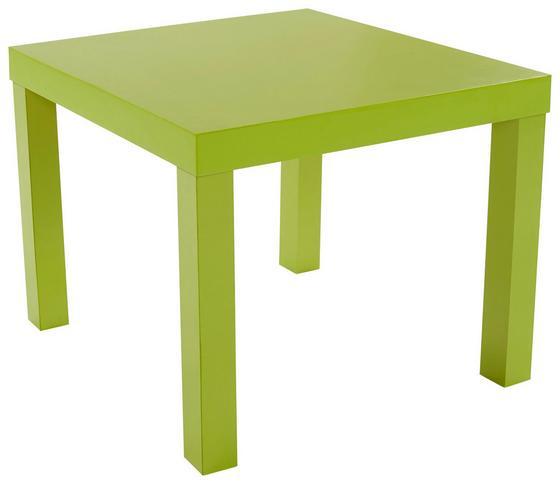 Konferenční Stolek Nora - zelená, Moderní, kompozitní dřevo (55/42/55cm)