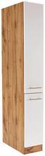 Apothekerschrank Stella Ahs30 - Eichefarben/Weiß, Holzwerkstoff (30/200/57cm) - Ombra