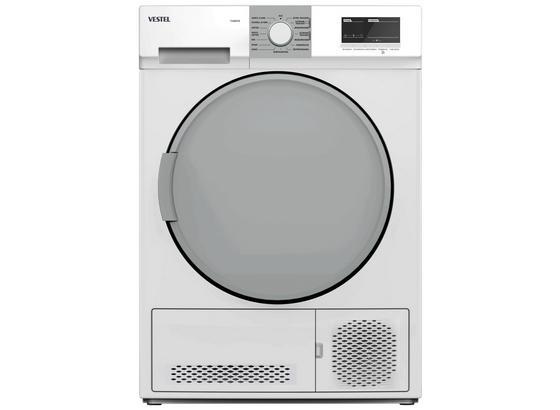 Kondenstrockner T-K047x Weiß 7kg Zustellung - Weiß, Basics (59,6/84,5/56,3cm) - Vestel