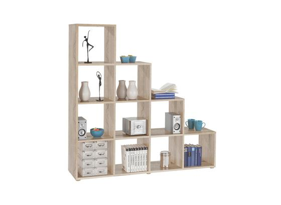 Raumteiler Pisa 4 - Eichefarben, MODERN, Holzwerkstoff (149/150/35cm)