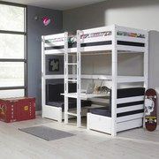 Finley Finley 2mal 90x200 cm Buche - Weiß, Design, Holz (90/200cm)