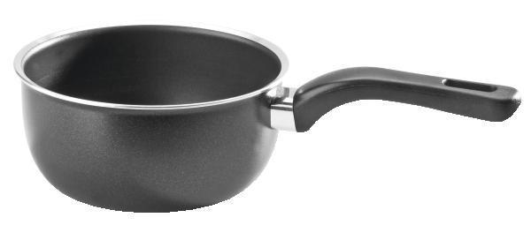 Posuda Za Kuhanje Schwarz - crna, Konvencionalno, metal (1l) - OMBRA