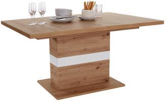 Esstisch im modernen Design und Holzoptik