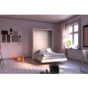 Schrankbett Juist L: 212 cm Weiss - Weiß, KONVENTIONELL, Holzwerkstoff (120/200cm) - Livetastic