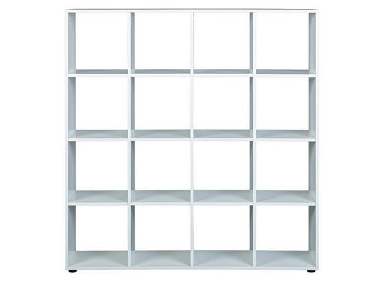 Raumteiler Caboto B: 139 cm Weiß - Weiß, Basics, Holzwerkstoff (139/144/33cm) - Livetastic
