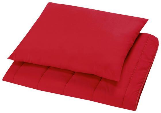 Bettenset Elli - Blau/Rot, Textil - Primatex