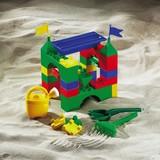 Steckbausteine Unico Maxi Burg 30-teilig - Multicolor, MODERN, Kunststoff (41,50/29,50/23,5cm)