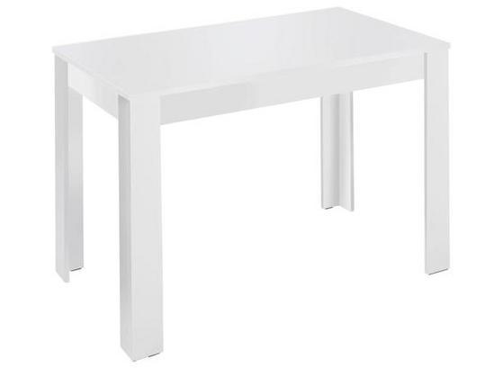 Rechteckiger Esstisch in Weiß
