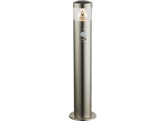 LED-Außenleuchte Medea - Klar/Silberfarben, MODERN, Kunststoff/Metall (11,8/50cm)