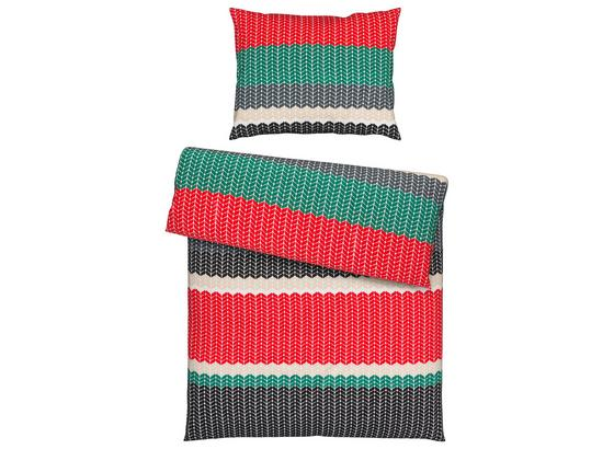 Posteľná Bielizeň Niklas - sivá/béžová, textil - Mömax modern living