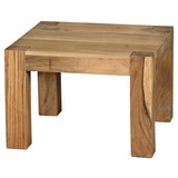 Couchtisch Mumbai L: ca. 60 cm - Akaziefarben, Design, Holz (60/60/40cm) - Carryhome