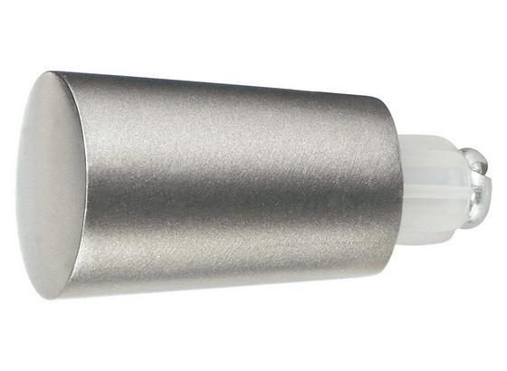 Zakončovací Diel Combi Tulpe I, 2 Ks/balenie - farby ušľachtilej ocele, Moderný, kov (1/1/1cm) - Mömax modern living