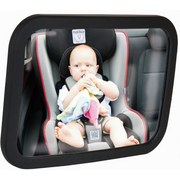 Rücksitzspiegel 501 - Schwarz, MODERN, Kunststoff (17,5/24,5cm) - Fillikid