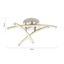 Led Stropná Lampa Hongkong - niklová, Konvenčný, kov (32/11,8cm) - Modern Living