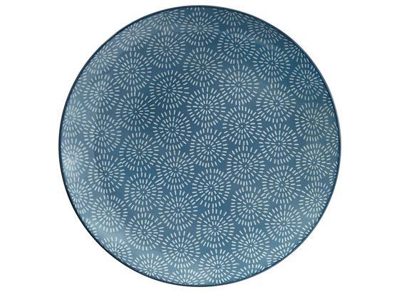 Plytký Tanier Nina - modrá, keramika (26,5cm) - Mömax modern living