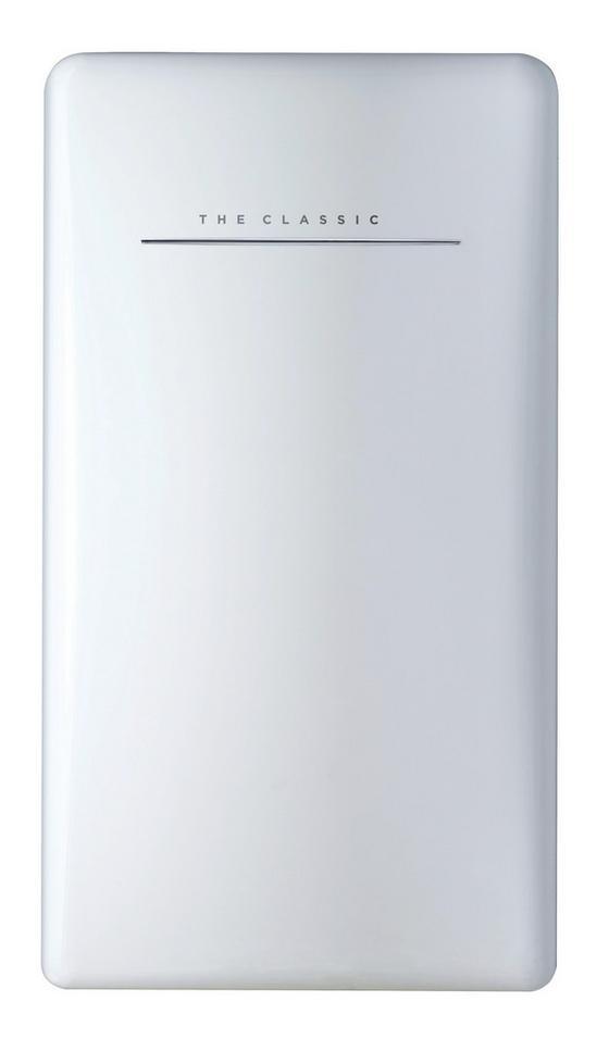 Bikitchen Kühlschrank Retro Cool 120 Weiß - Weiß, KONVENTIONELL, Kunststoff (49/92/58cm) - Bikitchen