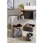 Regalkorb Nantje - Braun/Grau, MODERN, Holz/Textil (33/33/33cm) - Luca Bessoni