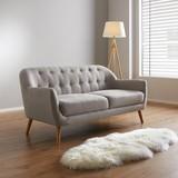 Pohovka Anela - šedá, Moderní, dřevo/textilie (168/79/84cm) - Mömax modern living