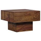 Beistelltisch Sira L: ca. 44 cm - Sheeshamfarben, Design, Holz (44/44/30cm) - Carryhome