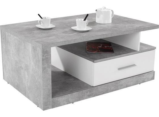 couchtisch im modernen design mit stauraum. Black Bedroom Furniture Sets. Home Design Ideas