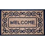 Fußmatte Andro 45x75 cm - Braun, KONVENTIONELL, Textil (45/75cm) - Homezone