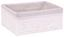 Aufbewahrungskörbchen Kopenhagen, 4,32 Liter - Hellgrau/Weiß, Karton/Textil (24/10/18cm) - James Wood