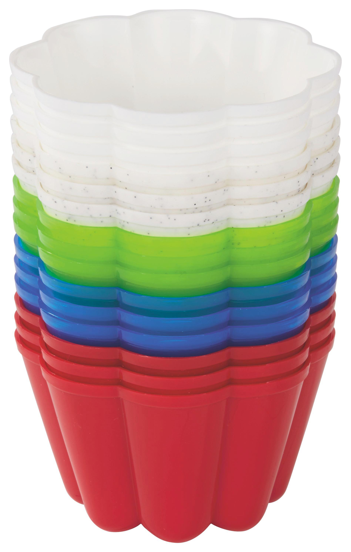 Puding Forma 3 Részes - piros/kék, konvencionális, műanyag (9.5/6.8cm)