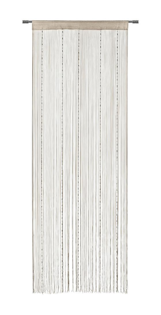 Fadenstore Emilia - Beige, MODERN, Textil (90/245cm) - LUCA BESSONI