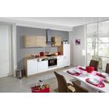 Küchenblock Win/plan 280 cm Weiß/Wildeiche - Eichefarben/Weiß, MODERN, Holzwerkstoff (280cm) - Express