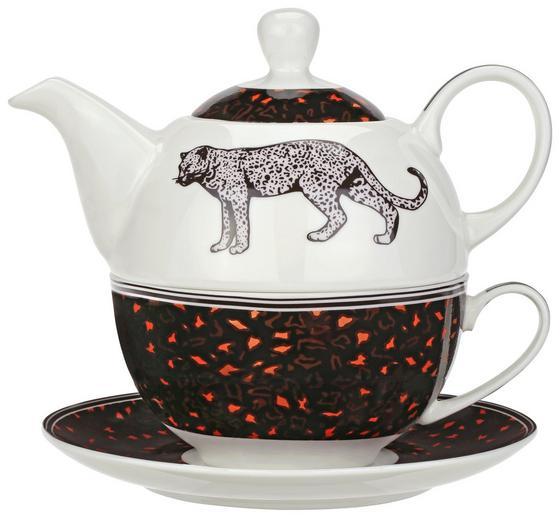 Teeset Jungle - Multicolor, MODERN, Keramik - Luca Bessoni