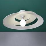 Stropná Lampa Angelo - biela, Moderný, kov (48/13cm) - MODERN LIVING