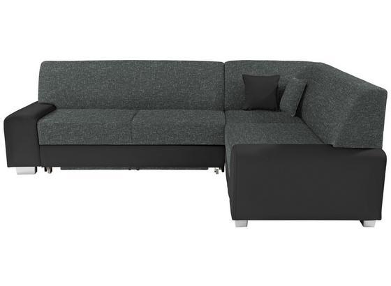Sedací Souprava Miami - šedá/černá, Basics, dřevo/textil (260/210cm)