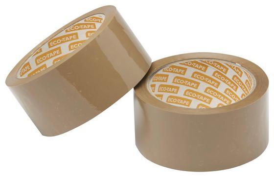 Verpackungsband Transparent - Transparent, KONVENTIONELL, Kunststoff (6600cm) - Gebol