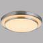 LED-Deckenleuchte Loli - Opal/Weiß, MODERN, Kunststoff/Metall (50/10cm)