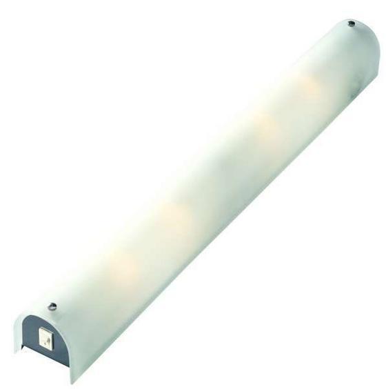 Falilámpa Ludwig - konvencionális, Üveg/Fém (65/7,5cm)