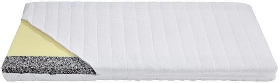 Detský Matrac Svenja - biela, textil (60/120cm)