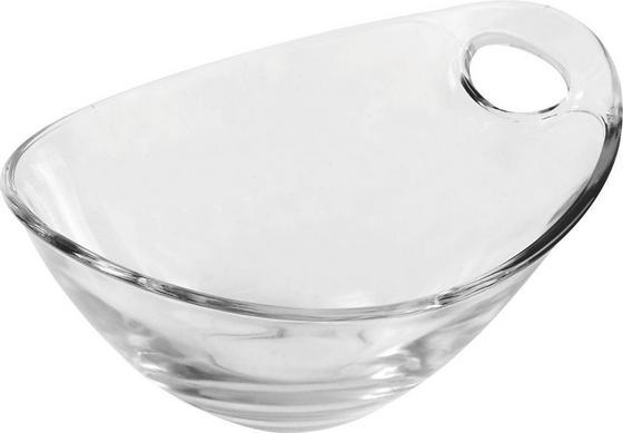 Desszertes Tál Gadi - tiszta, konvencionális, üveg (10cm) - LUCA BESSONI