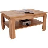 Couchtisch Holz mit Ablagefach Nizza 2, Wotan Eiche Dekor - Eichefarben, MODERN, Holzwerkstoff (100/45/60cm)