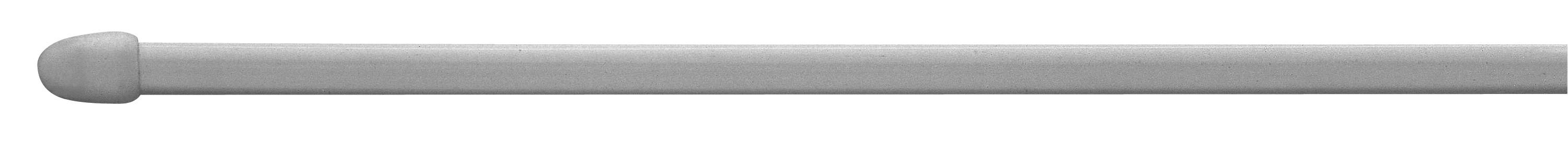Vitrázsrúd Krómozott Fém - ezüst színű, konvencionális, műanyag/fém (60cm)