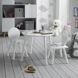Dětská Sedací Souprava Sami - bílá/šedá, Moderní (30/60/55,5/50/30/60cm) - Modern Living