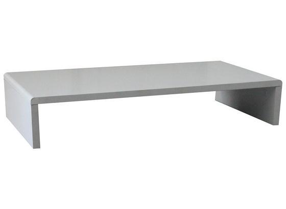 Tv Nástavec Aktion B153152-3 - bílá, Moderní, kompozitní dřevo (70/12,8/35cm)
