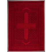 Flachwebeteppich Verona, 120/170 - Rot, MODERN, Textil (120/170cm)