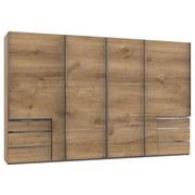 Schwebetürenschrank Level 36a (art. F02484) - Eichefarben, Basics, Holzwerkstoff (350,00/216,00/65,00cm)