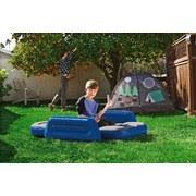 Luftbett für Kinder Lil 145x76x18cm Blau/Grau 67602 - Blau/Grau, MODERN, Kunststoff (145/76/18cm) - Bestway